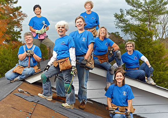 Women Roofers